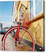 Danish Bike Acrylic Print by Robert Lacy