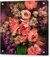 Dark Bouquet Acrylic Print