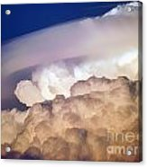 Dark Clouds - 2 Acrylic Print by Graham Taylor