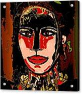 Dark Eyes Acrylic Print