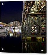 Darling Harbor At Night Acrylic Print