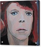 David Bowie The Early Years Acrylic Print