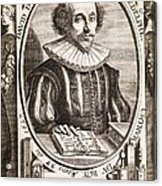 David De Planis Campy, French Alchemist Acrylic Print by Middle Temple Library