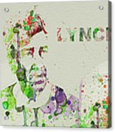 David Lynch Acrylic Print by Naxart Studio
