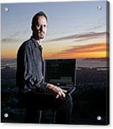 David P. Anderson, Us Computer Scientist Acrylic Print