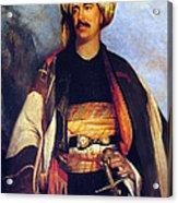 David Roberts In Arabian Dress Acrylic Print