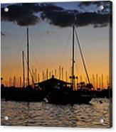 Davis Island Yacht Club Acrylic Print