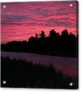 Dawn Glory Acrylic Print by Richard De Wolfe