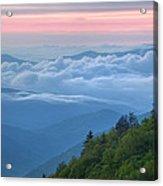 Dawn Great Smoky Mountains Acrylic Print