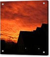 Dawn In Ashburn Acrylic Print