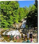 Day At Kent Falls State Park Acrylic Print