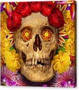 Day Of The Dead - Dia De Los Muertos Acrylic Print