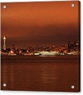 Daybreak Ferry Acrylic Print