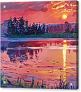 Daybreak Reflection Acrylic Print