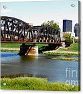 Dayton Ohio Acrylic Print
