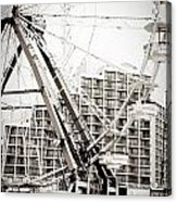 Daytona Beach Ferris Wheel Acrylic Print