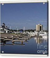 Daytona Boat Launch Acrylic Print