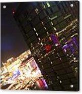 Dazzling Vegas Acrylic Print
