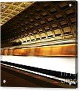 Dc Metro Acrylic Print by Heather Applegate