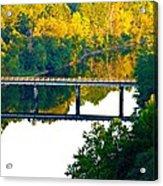 De Gray Bridge Acrylic Print by Jan Canavan