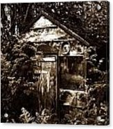 Dead Shed  Acrylic Print