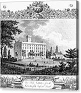 Deaf And Dumb Asylum, 1835 Acrylic Print