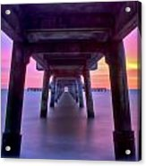 Deal Pier At Sunrise Acrylic Print