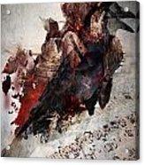 Death Of The  Song Bird Acrylic Print