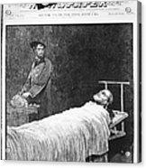 Death Of Ulysses S. Grant Acrylic Print