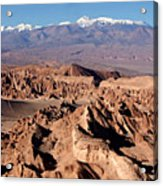 Death Valley - San Pedro De Atacama - Chile Acrylic Print