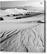 Death Valley Dunes 11 Acrylic Print by Bob Christopher
