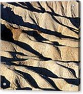 Death Valley Erosion Acrylic Print