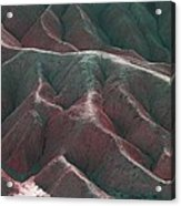 Death Valley Mountains 3 Acrylic Print