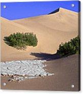 Death Valley Salt Flat Acrylic Print
