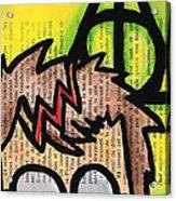 Deathly Hallows Harry Acrylic Print by Jera Sky
