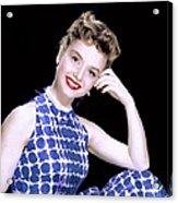 Debbie Reynolds, C. 1950s Acrylic Print