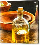 Decanter Of Oil Acrylic Print