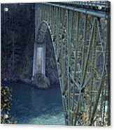Deception Pass Bridge South Span Acrylic Print