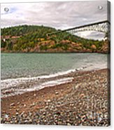 Deception Pass Washington Acrylic Print