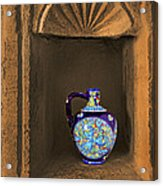 Decorative Carafe In An Alcove Acrylic Print