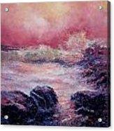 Dee Why Storm Acrylic Print