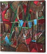 Deep City Three Acrylic Print