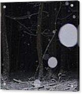 Deep Dark Quiet Acrylic Print