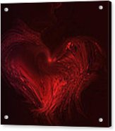 Deep Hearted Acrylic Print