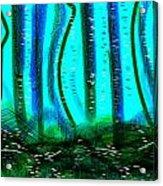 Deep Sea Acrylic Print by Rosana Ortiz