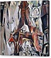 Delaunay: Eiffel Tower, 1910 Acrylic Print