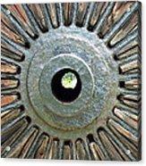 Deleon Springs Wheel Spoke Acrylic Print