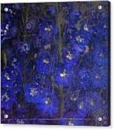 Delft Blues Acrylic Print