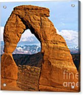 Delicate Arch At Arches Acrylic Print