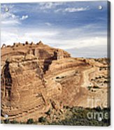 Delicate Arch Viewpoint - D004091 Acrylic Print